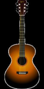 den akustiske guitar