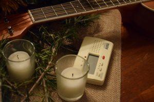 almindelig tuner til guitar